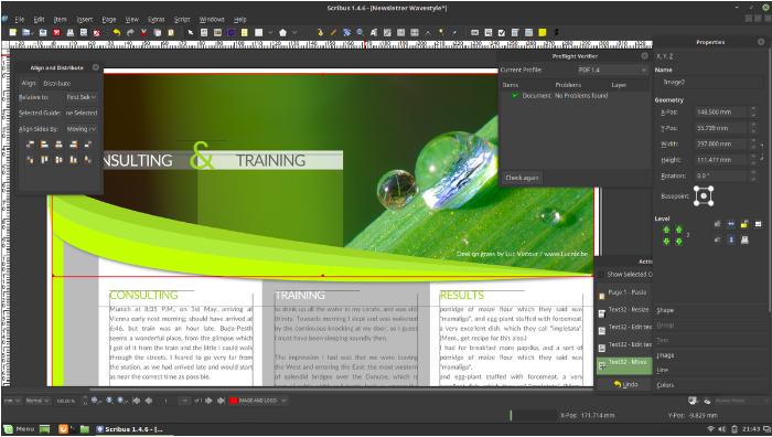 scribus - Freeware Tools Untuk Desainer