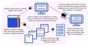 diagram Cara Kerja Search Engine