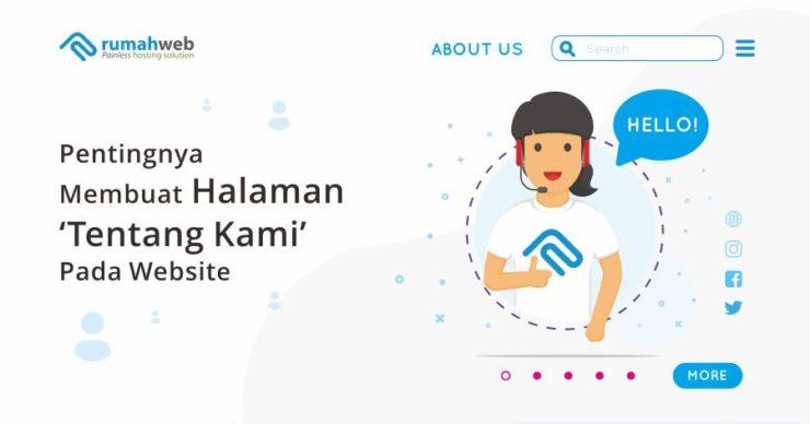 Pentingnya Membuat Halaman Tentang Kami Pada Website