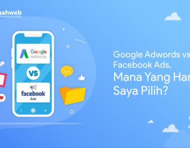 banner artikel - Facebook Ads vs Google Adwords mana yang harus saya pilih.