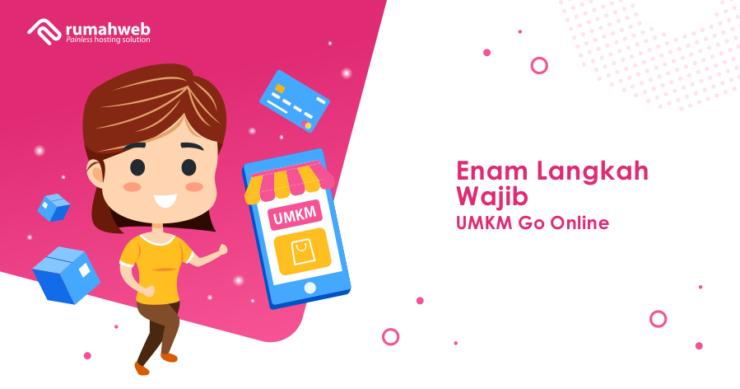 banner blog - enam langkah wajib umkm go online