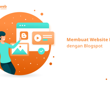 banner blog - membuat website murah dengan blogspot