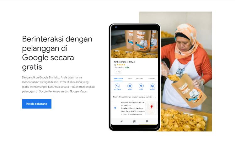 image 1 - Cara Agar Bisnis Muncul di Halaman Pertama Google Search