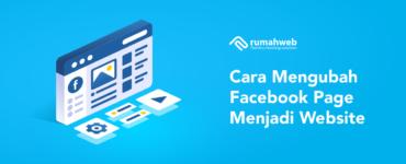 banner artikel - Cara Mengubah Facebook Page Menjadi Website