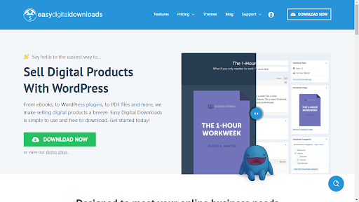 Easy Digital Downloads - 5 Plugin WordPress untuk Berjualan