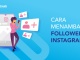 banner blog - Cara Menambah Followers Instagram