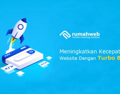 banner blog - Meningkatkan Kecepatan Website Dengan Turbo Booster