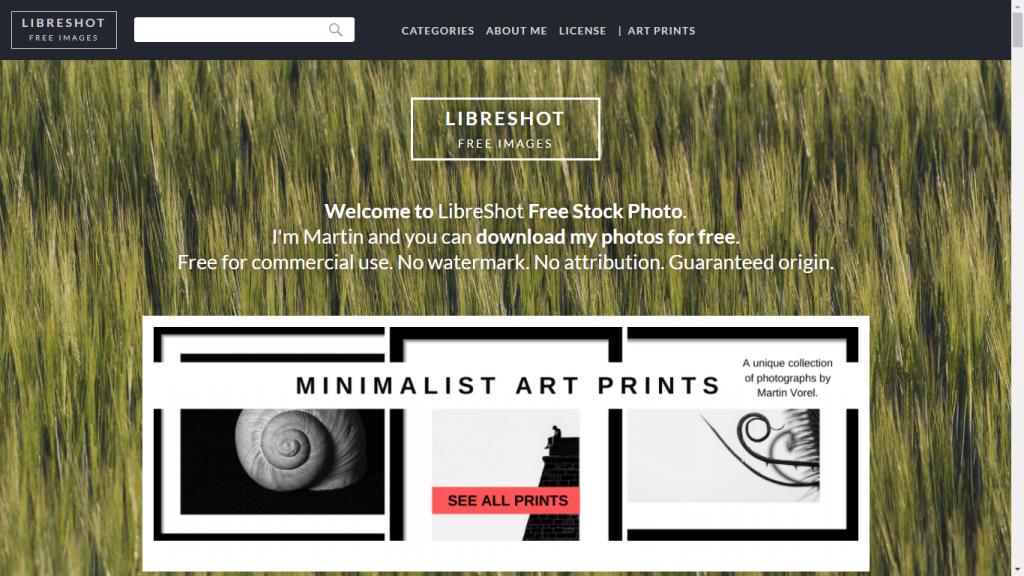 LibreShot - Rekomendasi Situs Photo Stock Gratis