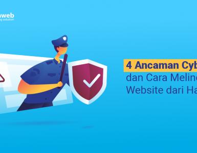 banner blog - 4 Ancaman Cyber dan Cara Melindungi Website dari Hacker