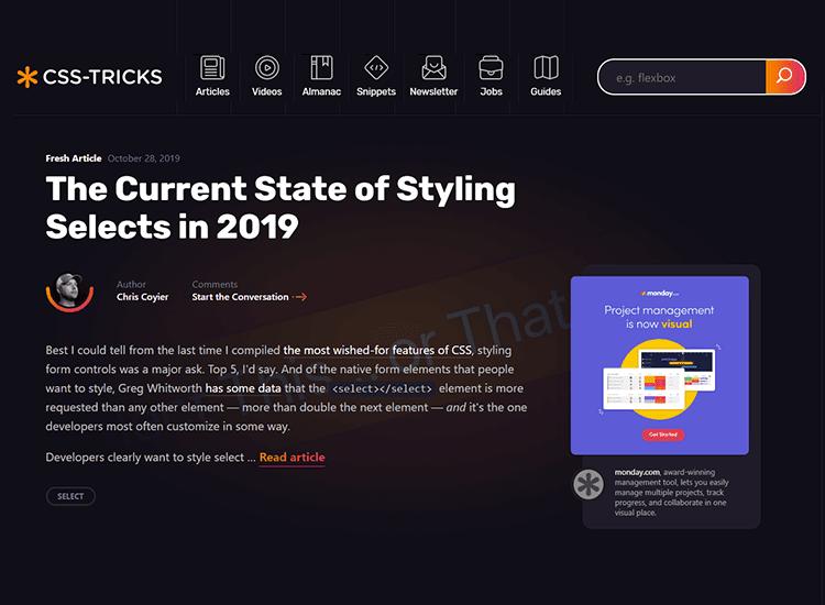 CSS-Tricks- 10 Rekomendasi Blog untuk Belajar Membuat Web