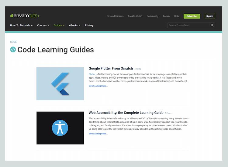 Tuts+ Code - 10 Rekomendasi Blog untuk Belajar Membuat Web
