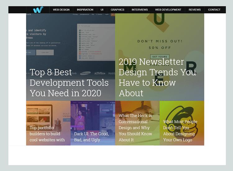Web Design Ledger - cara buat situs web