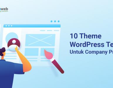 banner blog - 10 Theme WordPress Terbaik Untuk Company Profile