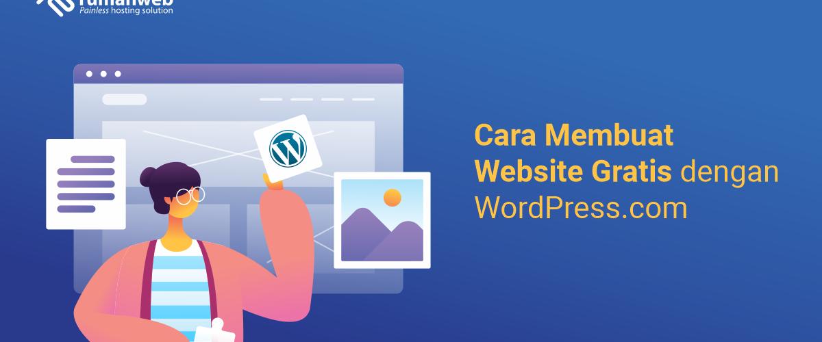banner blog - Cara Membuat Website Gratis Dengan WordPress