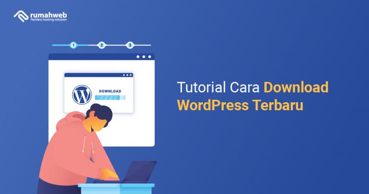 banner blog - Tutorial Cara Download WordPress Terbaru