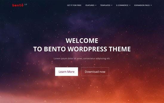 bento - 10 Theme WordPress Terbaik untuk Company Profile