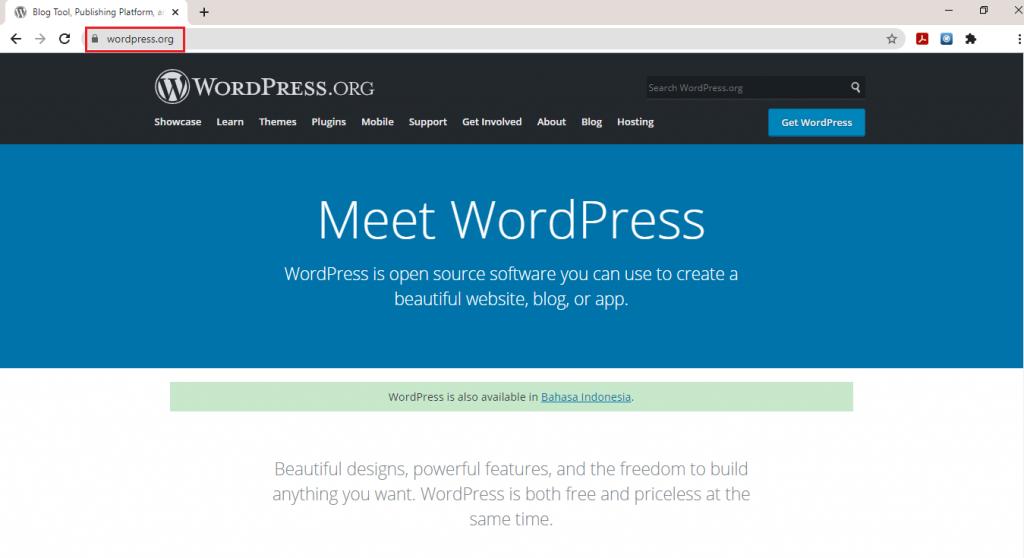 image 1 - Tutorial Cara Download WordPress Terbaru