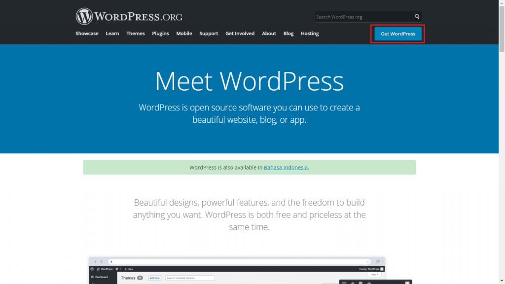 image 2 - Tutorial Cara Download WordPress Terbaru