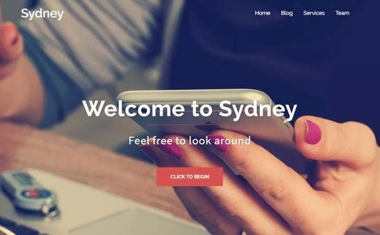 sydney - 10 Theme WordPress Terbaik untuk Company Profile