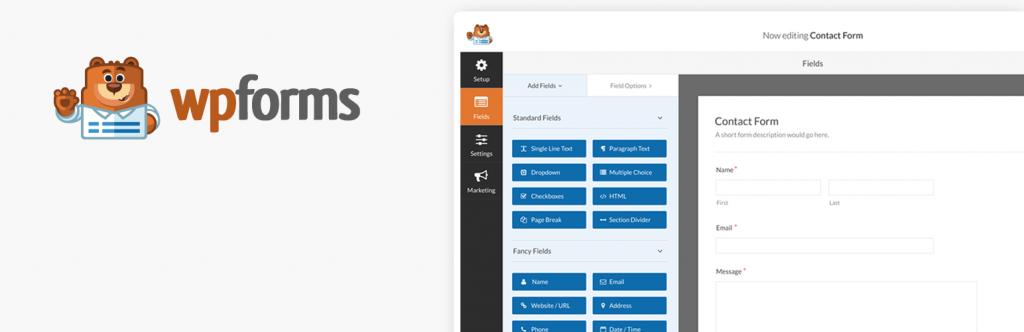 WP Forms - 5 Plugin Form WordPress Terbaik