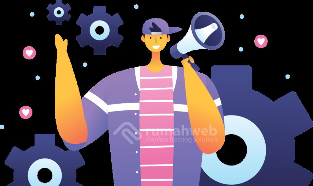 illustrasi - Cara Kerja Influencer Marketing