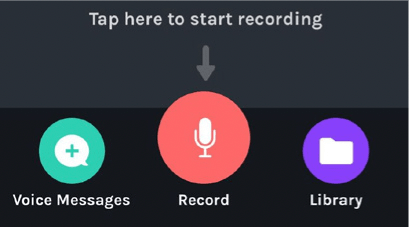 start record Anchor Podcast