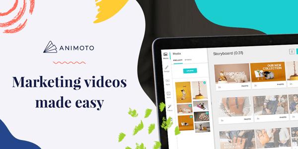 Animoto - 10 Website Online Video Editor