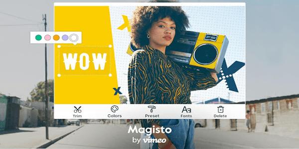 Magisto - Aplikasi edit video online