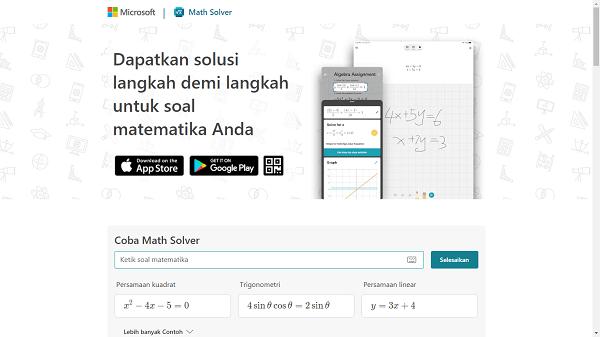 Microsoft Math Solver