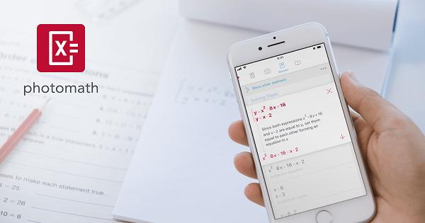 Photomath - Aplikasi Matematika untuk Smartphone