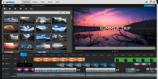 WeVideo - Aplikasi edit video online