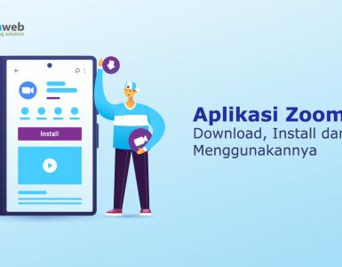 banner blog - Cara Download dan Install Aplikasi Zoom