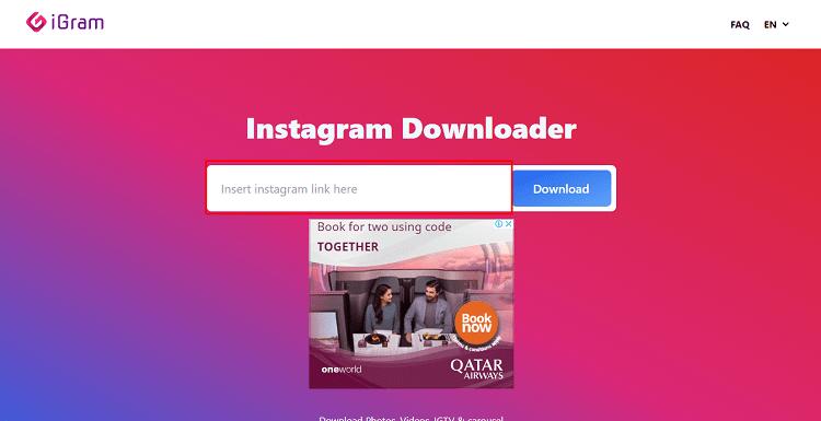 Cara Download Foto Instagram Melalui Igram.io - image 1