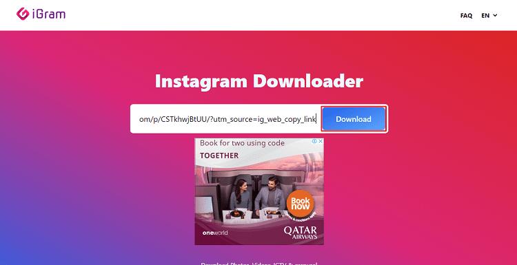 Cara Download Foto Instagram Melalui Igram.io - image 2
