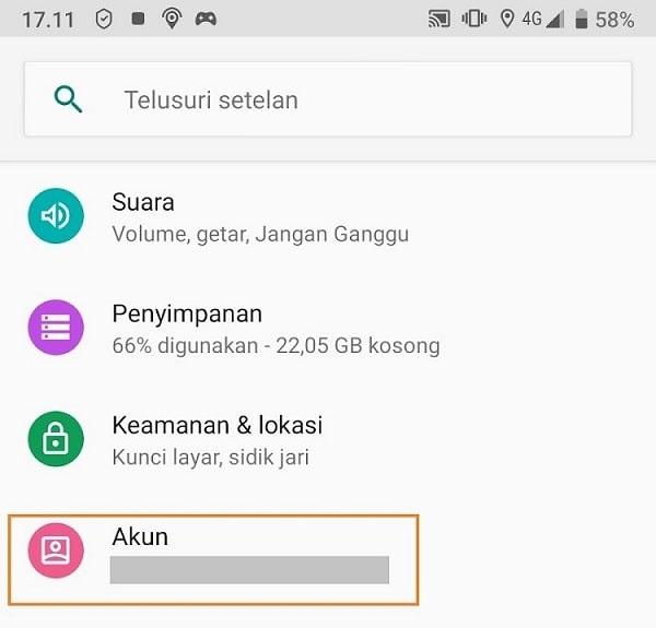 Cara Menghapus Email di HP Android image 1