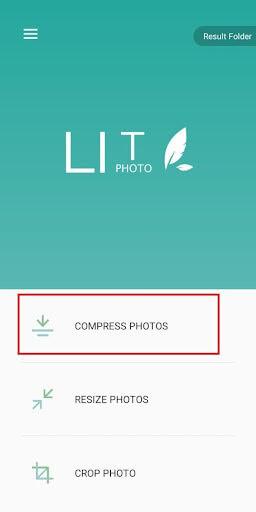 Cara Kompres Foto di HP Android menggunakan Photo Compress & Resizer image 2