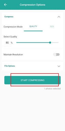 Cara Kompres Foto di HP Android menggunakan Photo Compress & Resizer image 3