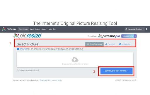 Cara Kompres Foto Secara Online - Picresize - image 1